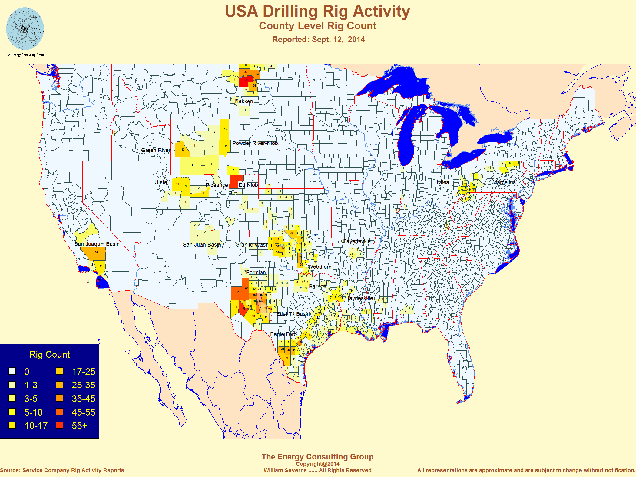 Oil Drilling Us Map United States Oil and Gas Drilling Activity