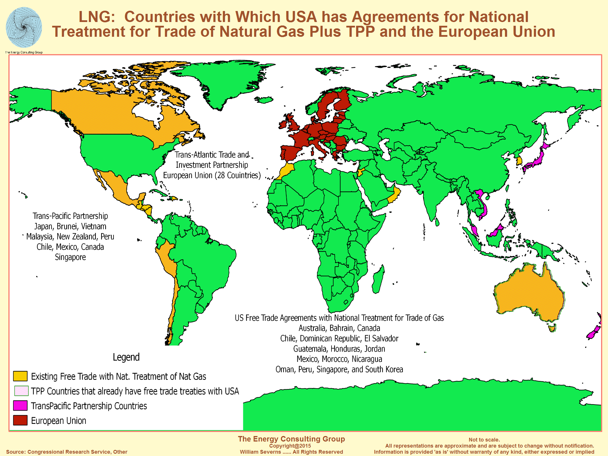 Canadian LNG West Coast Overview - Us And Pacific Countries Maps