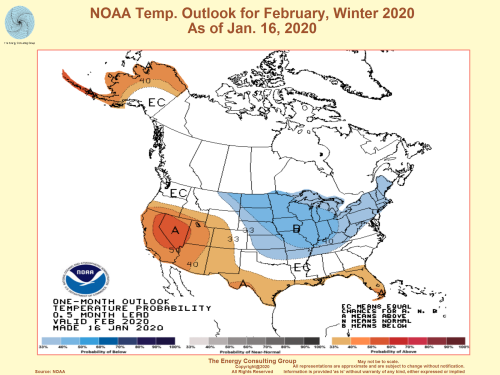 Natural Gas Market Driver:  USA Short Term Weather Outlook