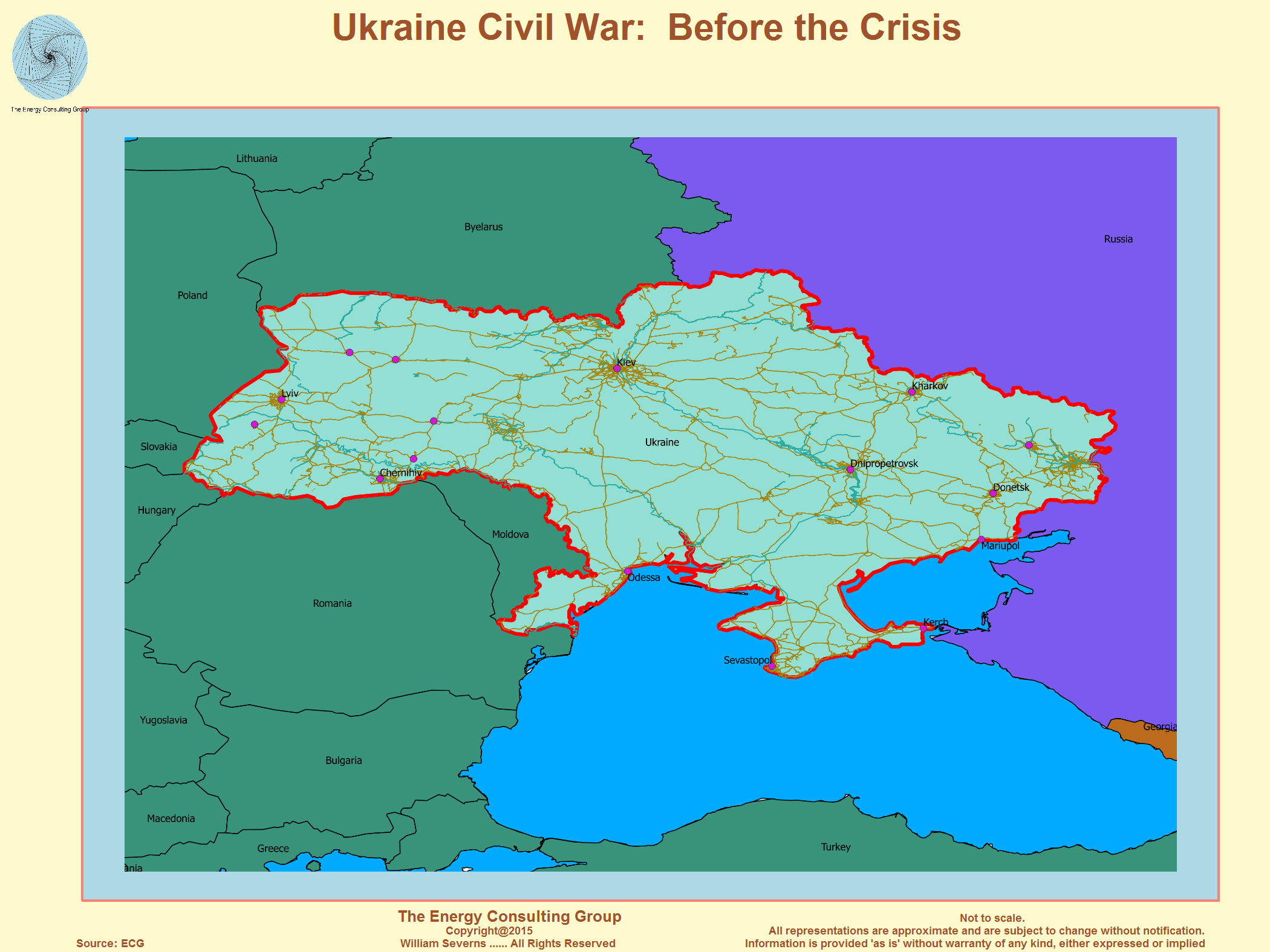 The Crisis in The Ukraine